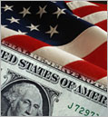 Money and flag image