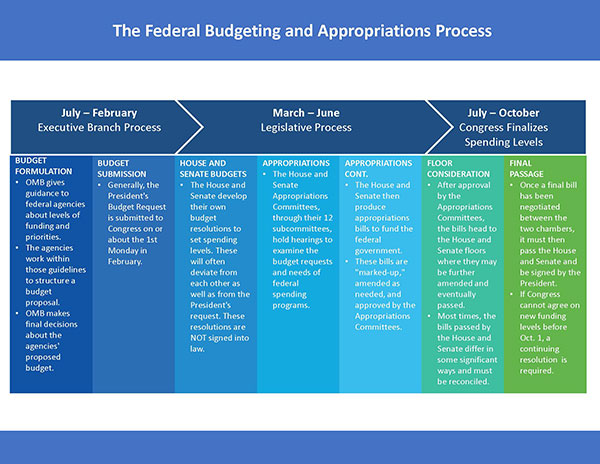 Federal Budgeting And Appropriations Process Accessible Nsf