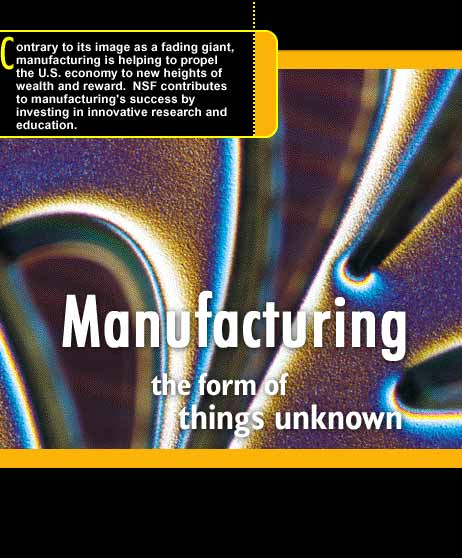 Manufacturing: The Forms of Things Unknown