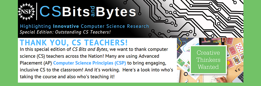 CISE - CS Bits & Bytes | NSF - National Science Foundation