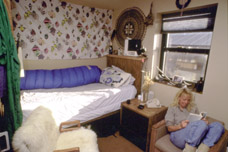 Typical bunk-room at McMurdo
