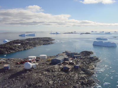 Palmer Station, Anvers Island, Antarctic Peninsula