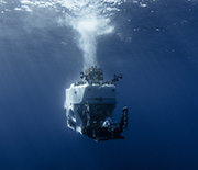 The human-occupied submersible Alvin can transport researchers on dives to depths of 14,700 feet.