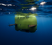 The autonomous underwater vehicle Sentry is capable of exploring the ocean down to 19,685 feet.