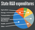 All states reported spending in at least two of the most common R&D categories (click for detail).