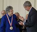 Photo of 2007 National Medal of Science Awardee Faye Ajzenberg-Selove.