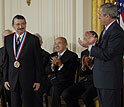 Photo of 2007 National Medal of Science Awardee Mostafa A. El-Sayed.