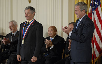 Photo of 2007 National Medal of Science Awardee Leonard Kleinrock.