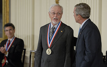 Photo of 2007 National Medal of Science Awardee Bert O'Malley.
