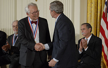 Photo of 2007 National Medal of Science Awardee Charles Slichter.