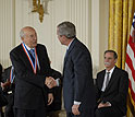 Photo of 2007 National Medal of Science Awardee Andrew Viterbi.