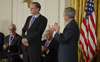 Photo of 2007 National Medal of Science Awardee Dave Wineland.