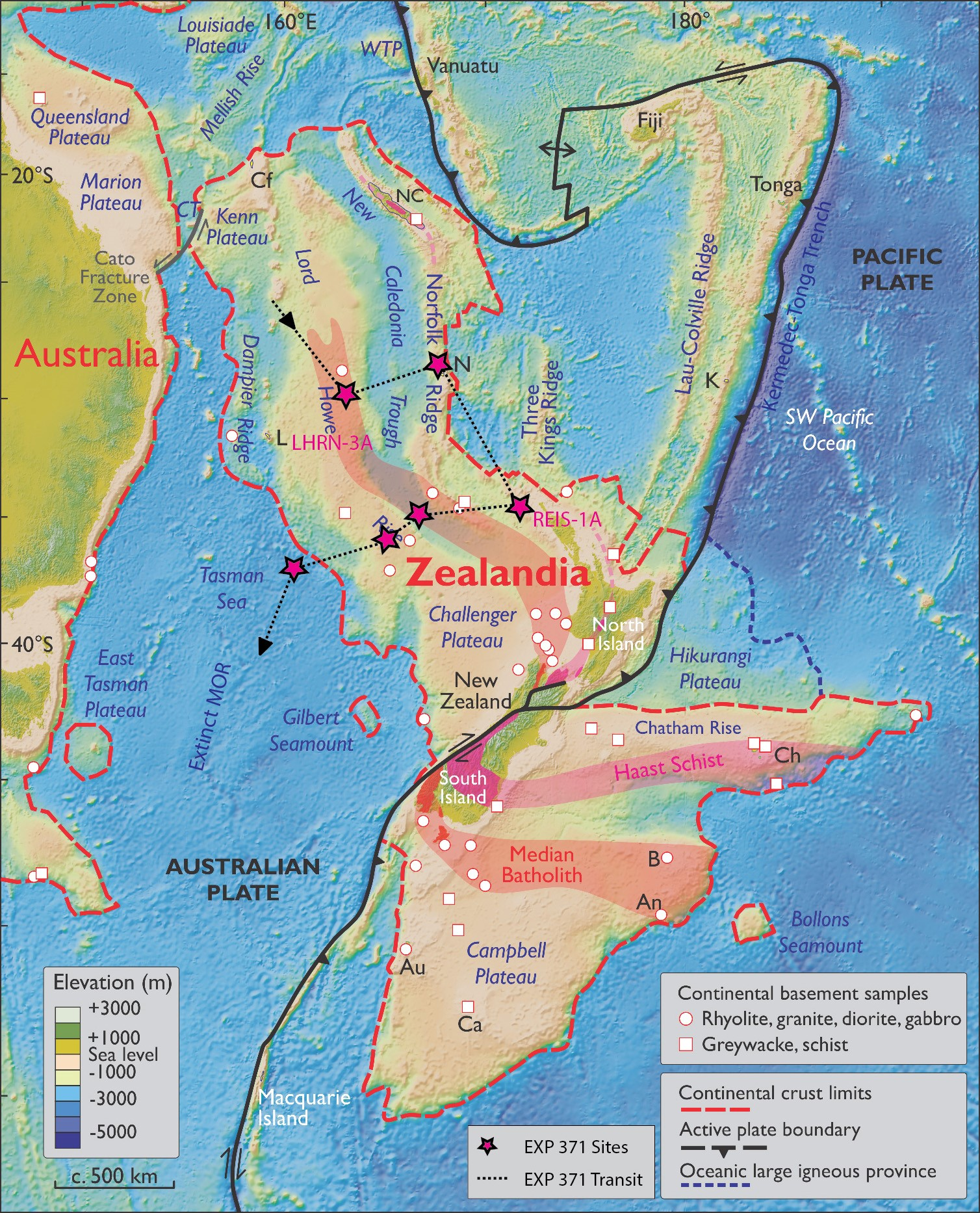 scientists reveal secrets of lost continent zealandia earth earthsky