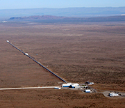 The LIGO detector in Hanford, Washington.