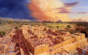 Scientists chart a baby boom in southwestern native americans from illustration of reconstructed hohokam platform mound in the sonoran desert in the 13th century ad publicscrutiny Choice Image