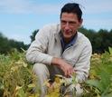 Researchers obtain measurements of nitrous oxide from soil.