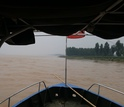 Researchers' view of the famous Yellow River as it courses along.