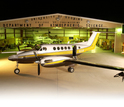 During PECAN, the University of Wyoming's King Air research aircraft will fly in clear air.