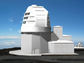 A rendering of the planned Daniel K. Inouye Solar Telescope.