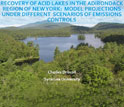 title slide Recovery of Acid Lakes in New York's Adirondack Mountains