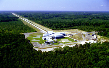 LIGO's detector site in Livingston, Louisiana.