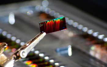 Photonic crystal biosensor chip