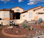 Residential landscapes are important parts of the Central Arizona-Phoenix LTER study area.