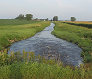Agricultural ditch