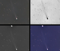 Photos of comet ISON Gossamer Tail & Disconnection Event