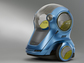 image showing te design of driverless car GM-Segway EN-V