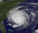 Satellite view of Hurricane Earl as it threatens the U.S. East Coast in 2010.