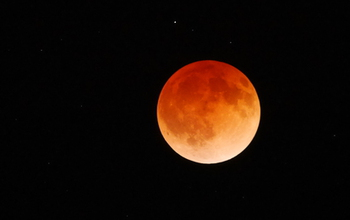 Lunar eclipse, April 15, 2014.