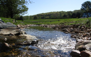 Stream restoration involving reconnection of an urban waterway near Baltimore with its floodplain.