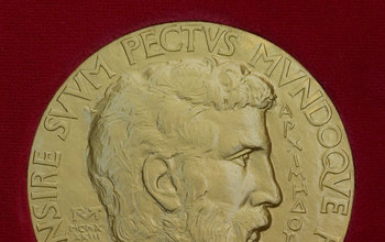 Front of the Fields Medal