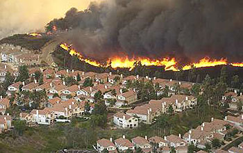 California Fires Near Los Angeles >> Improving Fire Forecasts Nsf National Science Foundation