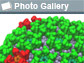 image of protein strcuture and text photo gallery