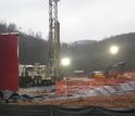 image showing an unconventional shale gas drilling site in West Virginia.