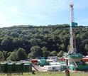 An unconventional shale gas well in West Virginia.