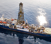 IODP researchers will be aboard the ocean drillship JOIDES Resolution.