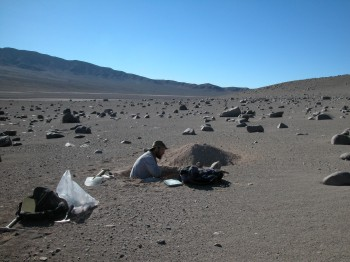 Sampling the Atacama