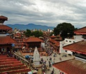 Durbar Square in Kathmandu, before the earthquake.