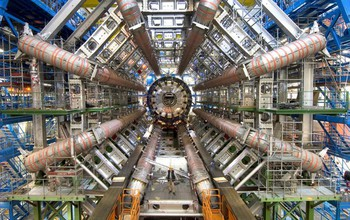 a view of inside CERN collider