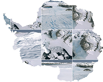 Antarctic LIMA images