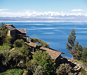 Peru's Lake Titicaca looks pristine from a distance, but is showing signs of eutrophication.