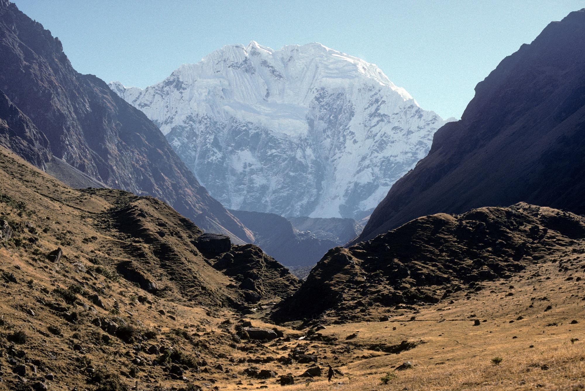 Photo of the Rio Blanco Valley, Peru.