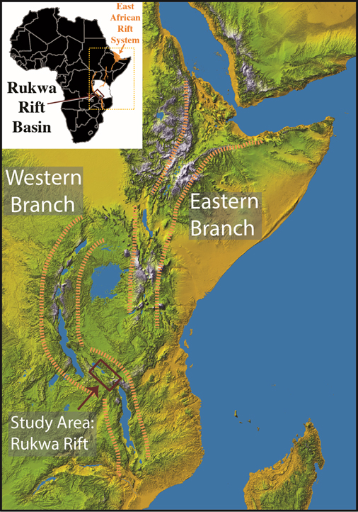 Great Rift Valley On World Map