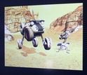 screenshot from the Mars Rover video game