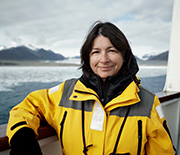 IODP Expedition 382 co-chief scientist Maureen Raymo of Columbia University.