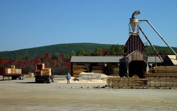 Jobs in New England's wood products industry are gained from land conservation.
