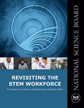 report cover Revisiting STEM Workforce.